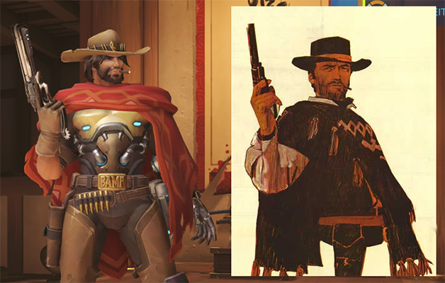 Overwatch McCree is very Eastwood
